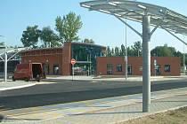 Nové autobusové stanoviště v lokalitě Na Poříčí.