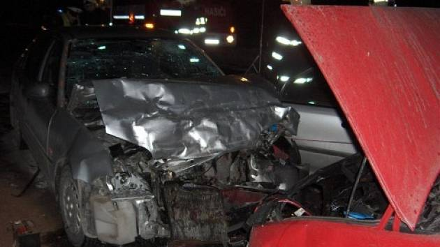 Nehoda v Mostech u Jablunkova.
