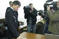 Policejní mluvčí Ivan Žurovec.