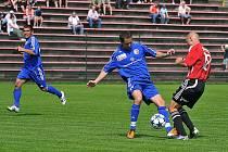 Ač fotbalisté Třince nad svým soupeřem vedli a měli další šance, z výhry se nakonec radovali Pražané.
