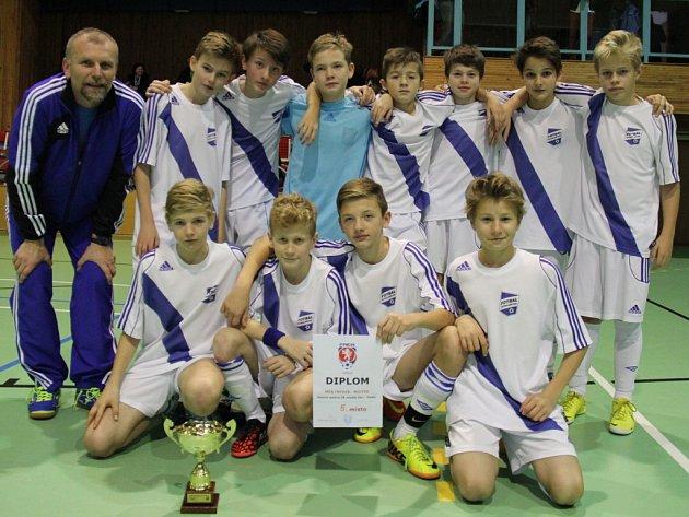 Mladí fotbalisté MFK Frýdek-Místek jsou v kategorii U13 v halové kopané pátí nejlepší v republice.