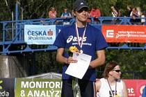 Frýdecko-Místecký atlet Peter Mikulenka získal na republikovém mistrovství zlatou a stříbrnou medaili.