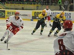 Čtvrtý finálový zápas na stadionu na Lapači ovládli hokejisté Frýdku-Místku: VHK Vsetín - HC Frýdek-Místek 2:6