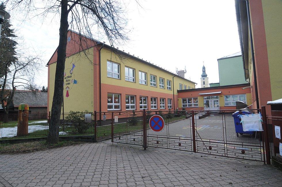 Budova mateřské školy.