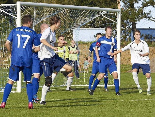 Fotbalisté Brušperku potvrdili, že na domácím trávníku jsou v letošní sezoně stoprocentní. Tentokráte zdolali 2:1 celek Raškovic.