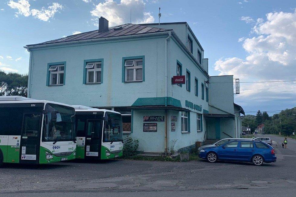 Deník na návštěvě v Raškovicích - Hotel Ondráš.
