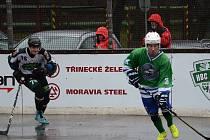 Hokejbalisté Třince se v domácím duelu s vedoucí Plzní dlouho drželi. Nakonec lídrovi soutěže podlehli těsným výsledkem 1:3.
