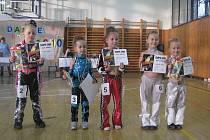 Ve Valašském Meziříčí se uskutečnily taneční závody Hot Dance 2010. Na snímku jsou nejmladší tanečnice v kategorii Mini – street dance sóla.