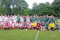 Třinečtí Oceláři se představili při fotbalové exhibici ve Smilovicích.