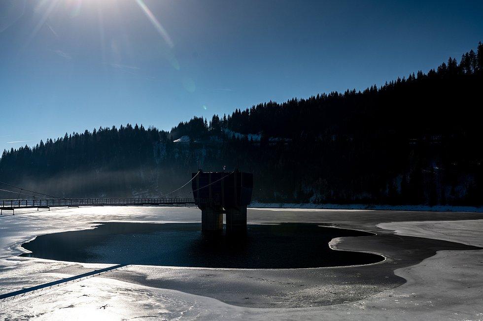 Vodní nádrže začaly s uvolňováním zásobních prostorů. Platí to i pro údolní nádrž Šance.