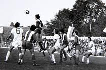 Fotbalové vzpomínání – frýdecko-místecké Válcovny si v sezoně 1975/1976 zahráli druhou nejvyšší soutěž v republice.