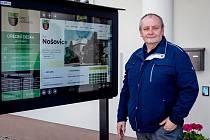 Starosta Nošovic Jiří Myšinský.