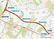 Přeložka silnice má zvýšit bezpečnost a plynulost dopravy, stávající cesta nevyhovuje.