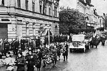 Pohřeb majora Kostikova.