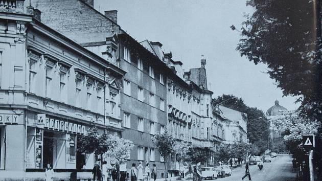 Někdejší třída Rudé armády ve Frýdku, dnes třída T. G. Masaryka.