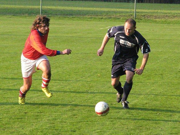 Fotbalisté Raškovic figurují po podzimu na sedmém místě.