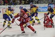 Třinečtí hokejisté nepředvedli na úvod optimální výkon a prohráli ve Zlíně.
