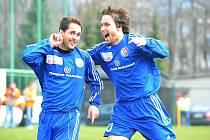 Zápas mezi domácím Třincem a pražskou Duklou neměl vítěze. Šlágr kola skončil smírně 1:1.