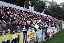 Loni bylo na pohárové utkání s pražskou Spartou vyprodáno.