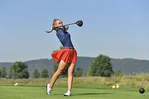 Talentovaná golfistka Denisa Vodičková má za sebou parádní rok.