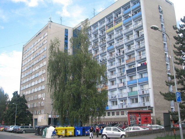 Frýdecko-místecká ubytovna Koloredo, která se nachází v ulici Malý Koloredov.