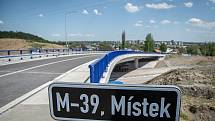 Dva nové mosty na obchvatu města dokončil Frýdek- Místek, 12. května 2021.
