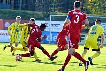 Fotbalisté Třince odehráli po dvou týdnech zase zápas.