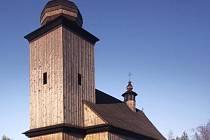 Kostel v Albrechticích po rekonstrukci v roce 2007.