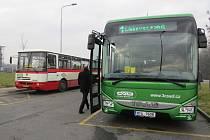 Autobusy MHD ve Frýdku-Místku.