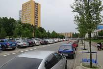 Ulice 8. pěšího pluku ve Frýdku-Místku.