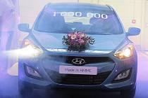 Miliontý vůz vyrobili v nošovické automobilce Hyundai. Při této příležitosti se ve čtvrtek konala v Nošovicích slavnost.