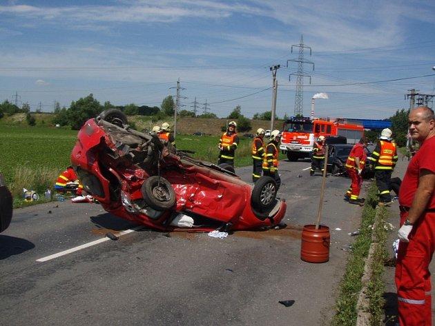 Tragická nehoda mezi Sviadnovem a Žabní.
