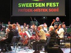 Ve Frýdku-Místku začal slavnostním koncertem symfonického orchestru třináctý ročník Sweetsen festu.