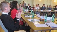 Ustavující zasedání zastupitelů v Jablunkově.