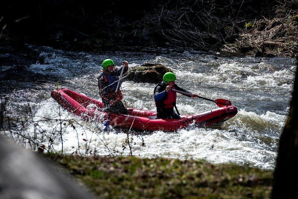 Sjezd Ostravice, 19. ročník Memoriálu Davida Sancha, 30. března 2019 Staré Hamry.
