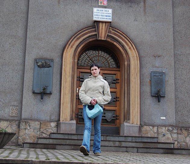 PZŠ na Nádražní ulici v Třinci.