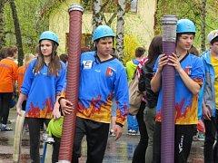 Více než 250 mladých hasičů se v sobotu sjelo do Lučiny, kde se konal již 9. ročník Vachalíkova memoriálu.