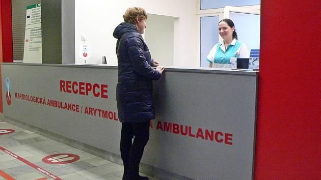 Recepce má ulehčit práci zdravotníkům.