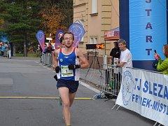 Vítězem hlavního závodu mužů na 10 km se opět stal Jakub Zemaník.