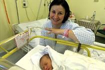 Jana Valentina Němčanská s maminkou, Třinec, nar. 10. 10., 48 cm, 3 kg, Nemocnice Třinec.