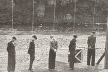 Poprava v Lískovci v roce 1943.