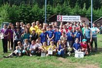 Osmadvacet dvoučlenných hlídek reprezentovalo Moravskoslezský kraj v Kounici u Vlastějovic na Kutnohorsku v turistickém závodě ČASPV Medvědí stezka.