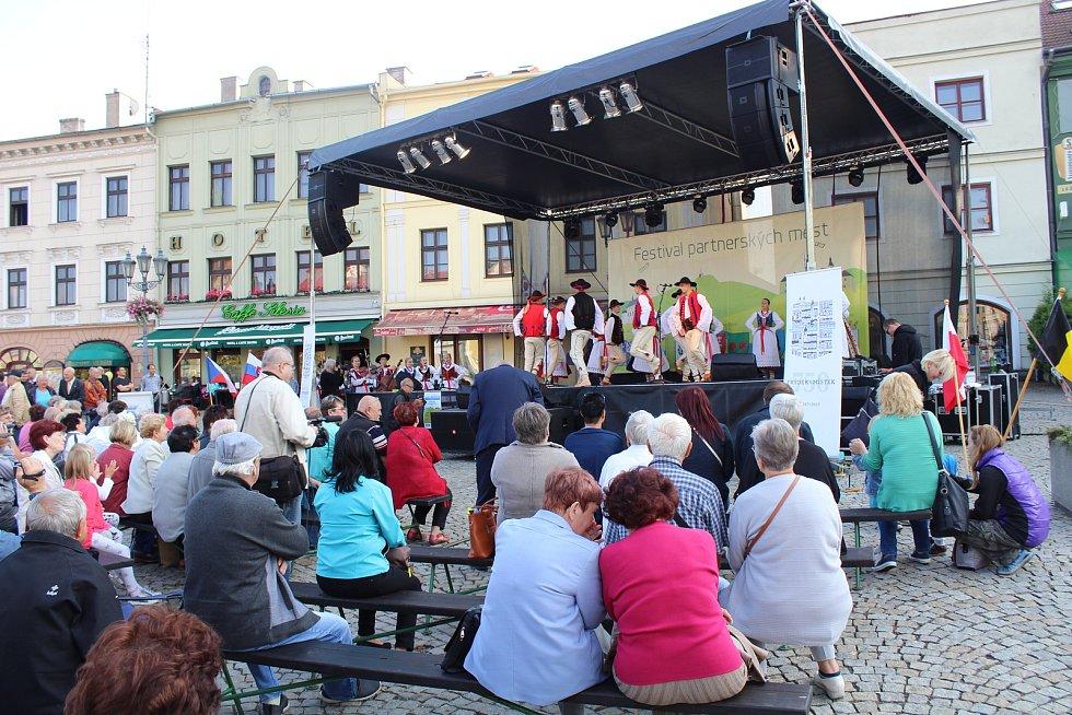 Festival partnerských měst ve Frýdku-Místku, pátek 8. září 2017
