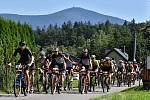 Sedmý ročník závodu Bike Čeladná odstartoval v sobotu v Beskydech. Foto: archiv závodu