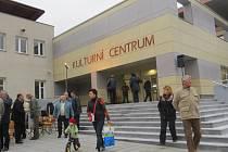Otevření rekonstruovaného kulturního domu ve Frýdlantu nad Ostravicí.
