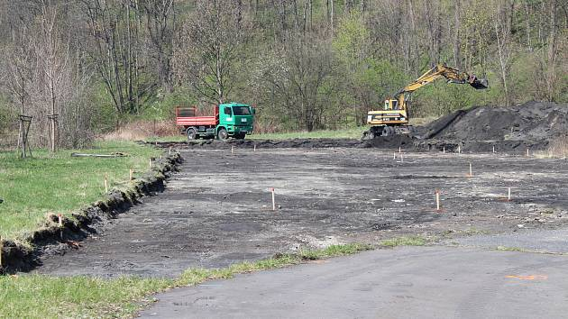 Skatepark, který vyroste poblíž haly Polárka, má být hotov do půl roku.
