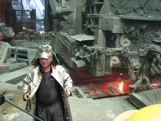 Snímek z Třineckých železáren.