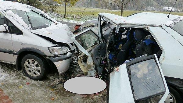 Snímek zmísta nehody