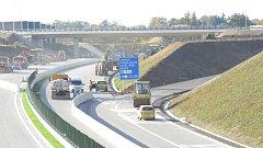 V Neborech dosud obchvat Třince končí. Za pár let se řidiči odtamtud dostanou až k dálnici D48.