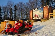 Ski areál Na Staškově v Malenovicích.